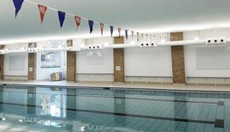 Acoustic Installation | Norwich, Swimming Pool