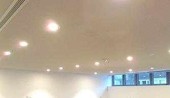Acoustic Plaster Solution | Arup Head Office-inside
