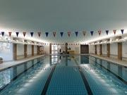 Norwich High School For Girls; Swimming Pool Acoustic Ceiling Installation