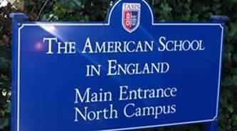 Acoustic Plaster Solution | The American School in England sign