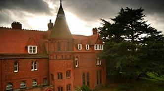 Acoustic Plaster solution used in Girton College, Cambridge outside