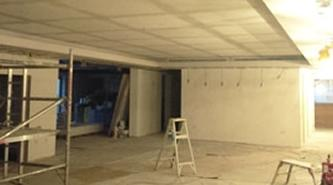 Acoustic Plaster Contractor | North Kent | Community Church ceiling