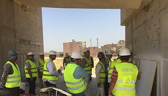 Grand Egyptian Museum Cairo- Acoustic Plaster Teaching
