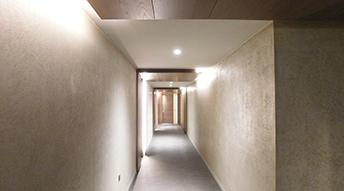 Fitzroy Place - Acoustic Plaster Ceiling