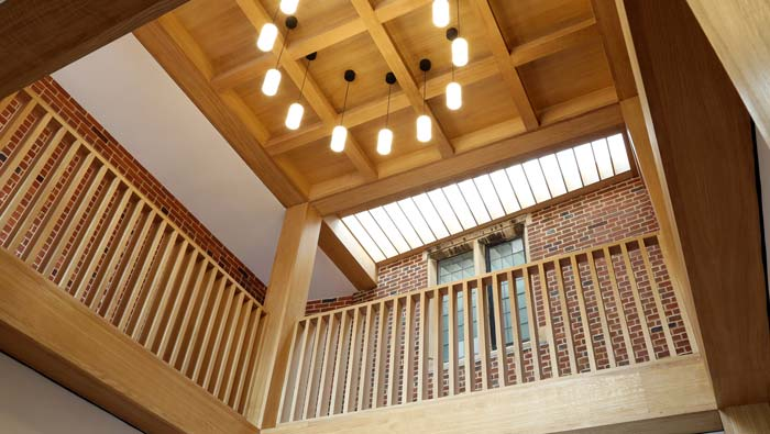Acoustic Plaster Solution | Jesus College