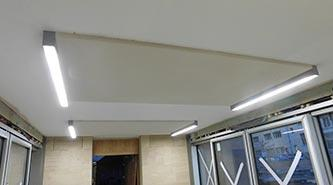 Terraco Ambient Acoustic Plaster - Magdalen College