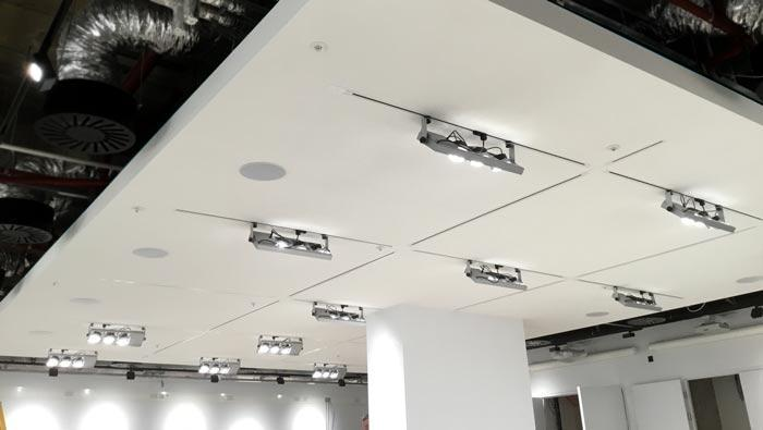 Specialist Acoustic Plaster System Completed in Edinburgh