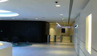 Acoustic Plaster Solution | Arup Head Office-outside